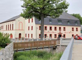 Gasthof und Hotel Roter Hirsch, Claußnitz
