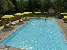 Les Lodges du Lac, Saint-Alban-de-Montbel