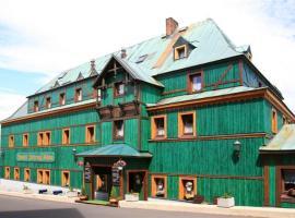 Hotel Zelený Dům, Boží Dar