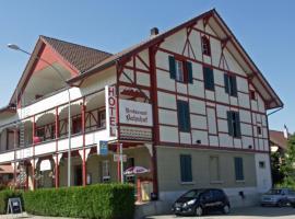 Hotel Restaurant Bahnhof, Schüpfen