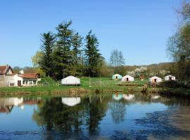 Yourtes du Moulin Bertrand, Martigny-Courpierre
