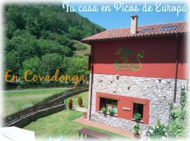 La Llosa de Repelao, Covadonga