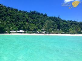 Thanya Beach Resort, Ngaj-sziget
