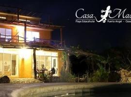 Casa Macondo, Puerto Ángel