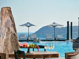 Royal Myconian Resort & Villas, Elia Beach