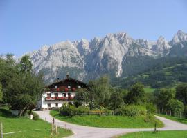 Bio-Bauernhof Rettenbachgut, Werfen
