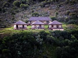 Addo Palace Bush Huts, Kromriver