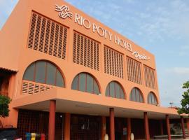 Rio Poty Hotel Praia, Luis Correia