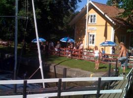 Hajstorp Slusscafé & Vandrarhem, Töreboda