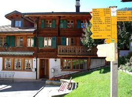 Apartment Tambour 8, Rossinière