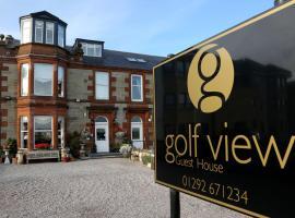 Golf View B&B, Prestwick