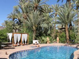 Ecolodge Bab El Oued Maroc Oasis, Agdz