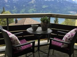 Apartment Seeblick mit Anbindung an ein 4-Sterne-Hotel, Beatenberg
