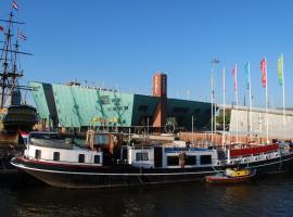 Hotelboot Zwaan, Amsterdam