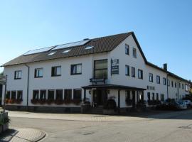 Hotel Bürgerstube, 묵겐슈튀름