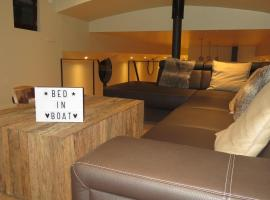 Bed in Boat, Ypres