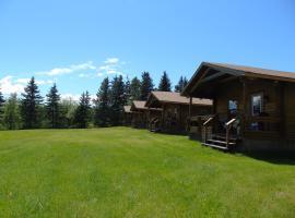 Cajun Cedar Log Cottages, Margaree Forks
