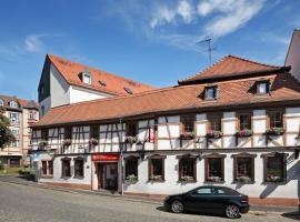 Zum Goldenen Ochsen, Hotel & Gasthaus am Schlossgarten, Ašafenburga
