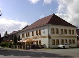 Pension a restaurace Rudolec, Český Rudolec