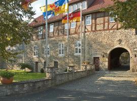 Burg Warberg, Warberg