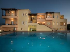 Mythos Beach Hotel Apartments, Maleme