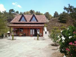 Agros Timber Log House, Agros