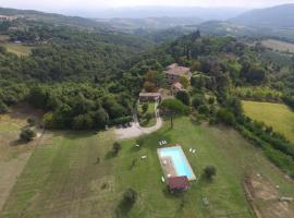 Country House La Casa Paterna, Monte Santa Maria Tiberina