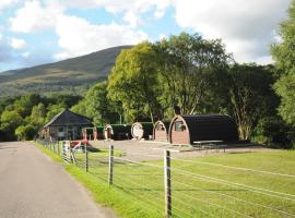 Glamping Pods, Kinlochleven