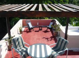 Eco Villa Maya with Roof Top Terrace, Kankun