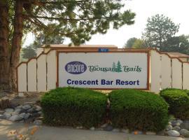 Crescent Bar Camping Resort Cottage 4, Trinidad