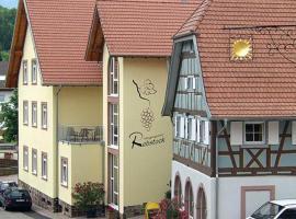 Metzgereigasthof Rebstock, Münchweier