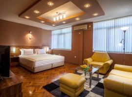 Panorama Top Floor Rooms in Hotel Tundzha, Yambol