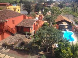 Farm Stay Landhaus Teide mit 5 Badezimmern, La Caridad