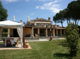 Villa Cappuccini, Castiglion Fiorentino