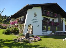 Landhaus Schwarzenbach, Eisenberg