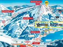 Hotel Alpinum, Treffen