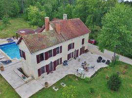 Maison de Maître Montchevreuil, Is-sur-Tille