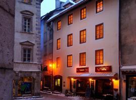 Appart Hotel : Résidence du Temple, Μπριανσόν