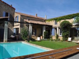 Village House with Pool near Lourmarin in the Luberon, Lauris