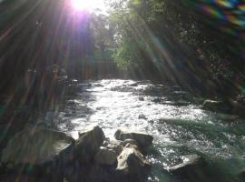 Cabañas Rio Celeste, El Achiote