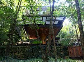 La cabane de Luca, Vinezac
