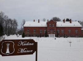 Kudina Manor, Kudina