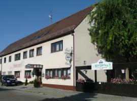 Restaurant Weinstube Leidel, Lichtenau