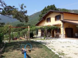 Villa Rosa, Sanza