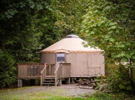 Mount Vernon Camping Resort 20 ft. Yurt 1, Bow