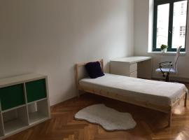 Zimmer gegenüber der Thomaskirche in Leipzig