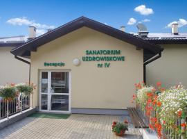 Sanatorium Uzdrowiskowe nr IV, Iwonicz-Zdrój
