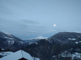 Wohnung in den Bergen, Zeneggen