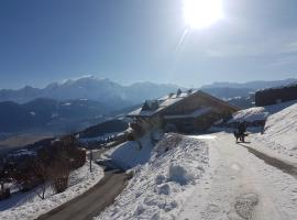 La Joubarbe au Balcon du Mont-Blanc, Cordon