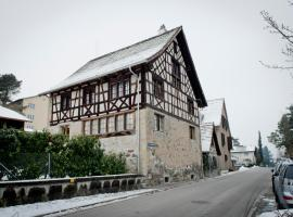 250 year Old Swiss Wine Farm House, Rüschlikon